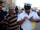 ضباط المرور مش بتوع مخالفات بس.. مهمتهم التصدى للجريمة بالميادين والشوارع