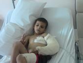 الدفعة الخامسة من جرحى قطاع غزة تصل إلى الأردن لتلقى العلاج اللازم