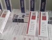 ضبط 21 ألف و800 علبة سجائر ومعسل مجهولة المصدر بطنطا وسمنود بالغربية