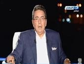 """محمود سعد من قناة السويس الجديدة: """"مبروك.. مصر تستطيع"""""""