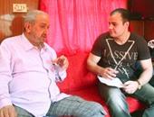 """""""اليوم السابع"""" ينشر حوارين للنجم الكبير نور الشريف أجراهما مع الزميل عمرو صحصاح"""