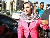 """بالفيديو.. قيادى بـ""""التجمع"""" يتضامن مع رضا الكرداوى فى اعتصامها أمام مجلس النواب"""