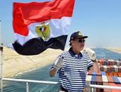مميش: عبور 58 سفينة قناة السويس اليوم بحمولة 3.6 مليون طن