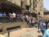 صحافة المواطن..قارئ يشارك بصور لزحام المواطنين أمام سجل مدنى العباسية
