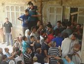 صحافة المواطن..تكدس المواطنين أمام سجل مدنى ميت غمر بالدقهلية
