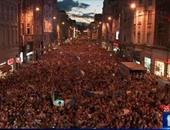 بالصور.. 50 ألف بوسنى فى الشوارع احتفالا ببطولة ناشئى أوروبا للسلة