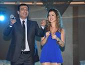 إيهاب توفيق وحسن عبد المجيد يشعلان وصلات الرقص في افتتاح مهرجان نجوم العرب