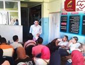 حملة للتوعية بمخاطر الإصابة بفيروس سى فى قرى مركز فوه بكفر الشيخ