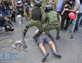 مستشار وزير داخلية أوكرانيا:حادث البرلمان عمل تخريبى وسط المتظاهرين