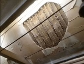 انهيار سقف شقة بالمحلة وتشكيل لجنة هندسية لمعاينة العقار
