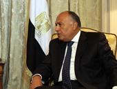 """وزير الخارجية يلتقى المفوض العام لوكالة غوث وتشغيل اللاجئين """"الأنروا"""""""