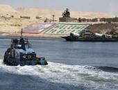 سفينة عملاقة تعبر قناة السويس الجديدة غدا كتجربة قبل افتتاحها رسميا