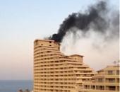 السيطرة على حريق بشاليه بقرية سياحية فى السخنة
