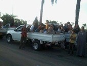 المرور يحذر من استخدام صناديق سيارات النقل الخلفية فى نقل المواطنين