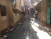 أهالى سوق اللبن بالمحلة يشكون رئيس المركز من تصدع منازلهم بسبب مياه الصرف