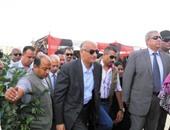 وزير التعليم الفنى يغادر الإسماعيلية بعد افتتاح مدرسة ثانوى زراعى