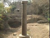 بدء عمل اللجنة الأثرية لنقل عمود مرنبتاح للمتحف المصرى الكبير
