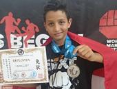 """مصرى يحصد الميدالية الفضية فى بطولة العالم لـ""""الكيك بوكسينج"""" بكرواتيا"""