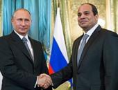 """السيسى لـ""""بوتين"""": نكافح الإرهاب ليس فقط بالقوة ولكن بالتنمية الاقتصادية"""