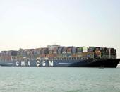 سفينة حاويات فرنسية تسدد مليون دولار رسوما لعبور قناه السويس