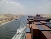 لأول مرة.. أكبر سفينة حاويات تدفع مليون دولار لتعبر قناة السويس الجديدة