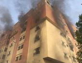 إصابة 6 مواطنين مصريين فى حريق عقار فى حى العزيزية بالسعودية