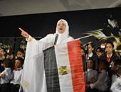 """بالصور..ياسمين الخيام تعود للغناء بعد توقف سنوات فى احتفالية""""أم الدنيا"""""""