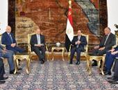 مؤتمر صحفى للرئيسين السيسى وعبدربه منصور  بقصر الاتحادية اليوم