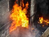 السيطرة على حريق بمحل بقالة فى مدينة الفشن ببنى سويف