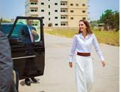 """الملكة رانيا تنشر صوراً لها على """"إنستجرام"""" أثناء زيارتها لإحدى المدارس بالأردن"""