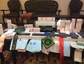 القبض على مستخلص جمركى يطبع أوراقا مالية داخل شقته بمنطقة السلام