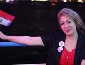 """بالصور..إيمى حسين تقدم حلقة خاصة عن قناة السويس الجديدة فى""""نجوم العرب"""""""