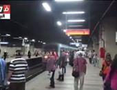 بالفيديو.. محطات المترو تستقبل المواطنين بأغانى وطنية احتفالا بقناة السويس الجديدة