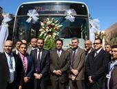 جى بى غبور أوتو تسلم الدفعة الأولى من أتوبيسات النقل العام بالإسكندرية