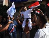 """""""كله إيد واحدة..شعار رفعه الجيش والشرطة والشعب فى احتفال قناة السويس"""