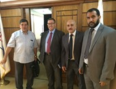 محافظ البنك المركزى الليبى ووفد رفيع المستوى يزورون شركة أويل ليبيا بالقاهرة