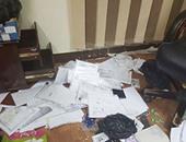 بالصور.. سرقة 420 ألف جنيه وأجهزة من شركة استيراد ببور توفيق فى السويس