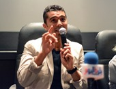 بالصور.. خالد النبوى عن يوسف شاهين: قدرته على الاستماع أهم ما يميزه