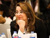 وزيرة التضامن تصل الأردن للمشاركة فى الدورة الـ68 للوزراء العرب