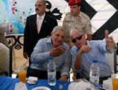 إجراءات أمنية مشددة بجنوب سيناء أثناء زيارة محلب وأسامة عسكر