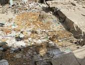 أهالى شارع الغلال بالشرقية يشكون تراكم القمامة والمخلفات