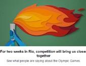 """بالفيديو.. """"فيس بوك"""" يحتفل بالأولمبياد ويطلق خدمة خاصة لمتابعة البطولة"""