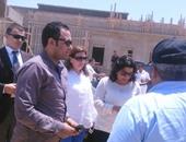 مى البطران تشيد بتنفيذ خطة وزارة الاتصالات فى القرية التكنولوجية ببرج العرب