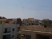 قارئ يشارك بفيديو وصور للعروض الجوية احتفالا بذكرى افتتاح قناة السويس