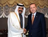 فى أول زيارة عقب تحركات الجيش التركى.. أردوغان يلتقى حمد بن خليفة بأنقرة