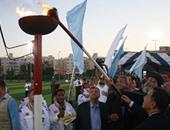 بالفيديو والصور.. البابا تواضروس يوقد شعلة النشاط الصيفى للكشافة