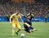 أولمبياد 2016.. بالفيديو.. تعادل مثير بين كولومبيا والسويد 2 - 2