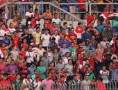 بالصور.. بدء دخول المشجعين استاد الدفاع الجوى لحضور مبارة مصر وتونس