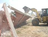 تنفيذ إزالة 41 حالة تعدٍ على الأراضى الزراعية وأملاك الدولة بسوهاج