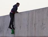 الشرطة تعتقل 10 مهاجرين اقتحموا الحدود بين إسبانيا والمغرب
